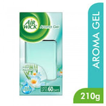 Air Wick Aroma Gel Aqua Floral Air Freshener 210g