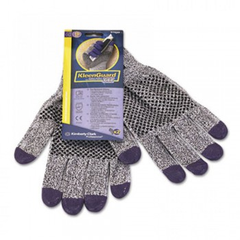 Jackson Safety* G60 Purple Nitrile Cut Resistant Level 3 Gloves - M, 12 pairs