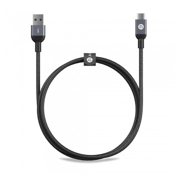 Adam Elements Casa M100 Type-C to Type-A Cable - Gray