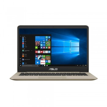 "Asus Vivobook A411U-NEB345T 14"" FHD Laptop - i5-8250U, 4gb ddr4, 1tb hdd, NVD MX150 2gb, W10, Gold"