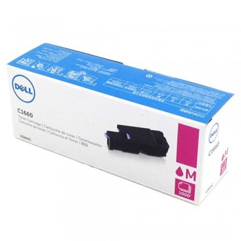 Dell C1660 Magenta Toner Cartridge V3W4C (Item no: DELL C1660W MAG)