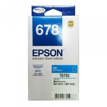 Epson 678 Cyan Ink Cartridge Standard Capacity - 1.2k (C13T678290)