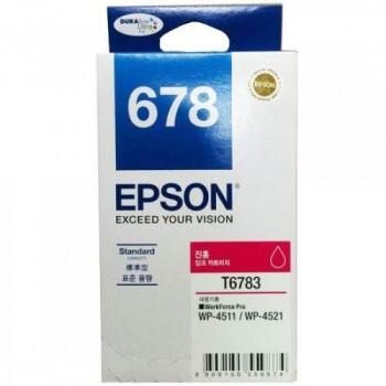 Epson 678 Magenta Ink Cartridge Standard Capacity - 1.2k (C13T678390)