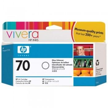 HP 70 DesignJet Ink Cartridge 130-ml - Gloss Enhancer (C9459A)