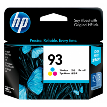 HP 93 Tri-color Inkjet Print Cartridge (C9361WA)