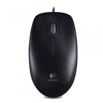 Logitech B100 Optical USB Mouse Black