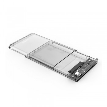 "Orico 2139C3-G2 2.5"" Transparent Type C 10Gbps HDD Enclosure"