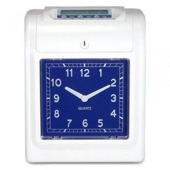 BOX Time Recorder W202 - Punch Card Machine Analog 6 Columns Printing