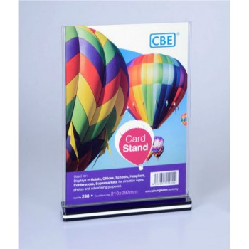 CBE A4 Card Stand - 290 Vertical