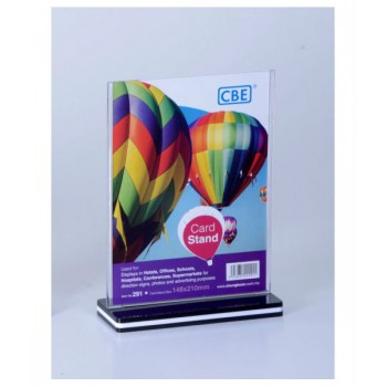 CBE A5 Card Stand - 291 Vertical