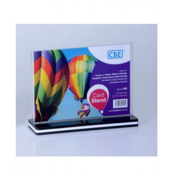 CBE A5 Card Stand - 295 Horizontal
