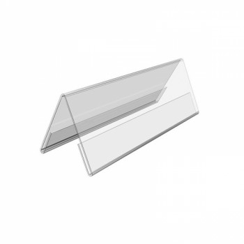 Acrylic Both Card Stand STZ-50991 Landscape 180mm x 65mm
