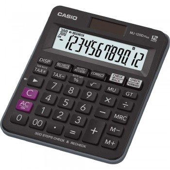 CASIO MJ-120D Plus Check & Recheck Tax Calculator