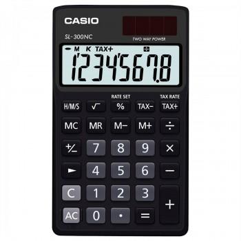 CASIO SL-300NC-BK TAX & TIME CALCULATOR