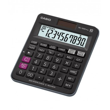 CASIO MJ-100D Plus Check & Recheck Tax Calculator