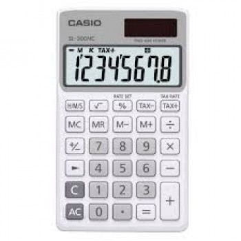 CASIO SL-300NC-WE TAX & TIME CALCULATOR