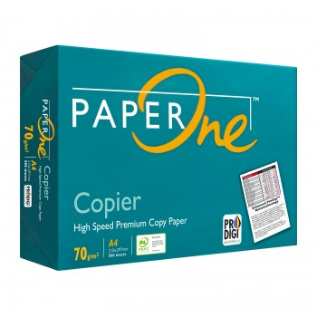 Paper One Paper 70gsm - A4size - 1ream - 500sheets
