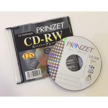 Prinzet CD-RW (A Grade) - 12x 700MB 80mins