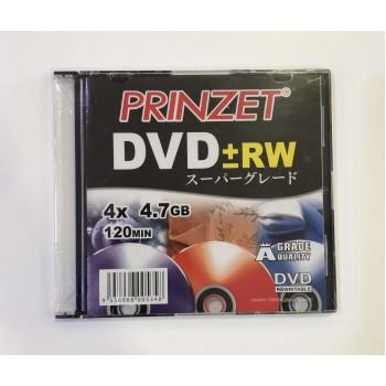 Prinzet DVD±RW (A Grade) - 4x 4.7GB 120mins