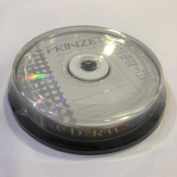 Prinzet CD-RW (A Grade) - 12x 700MB 80mins 10/pack