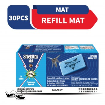 Shieldtox Blue Mat Refill 30 pieces