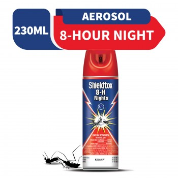 Shieldtox 8-H Nights Aerosol 230ml