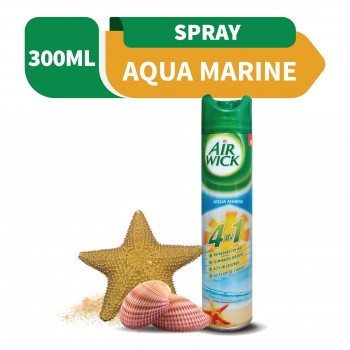 Air Wick 4 in 1 Air Freshener Aerosol Aqua Marine 300ml