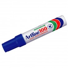 Artline 100 Giant Permanent Marker - EK-100 12mm Blue
