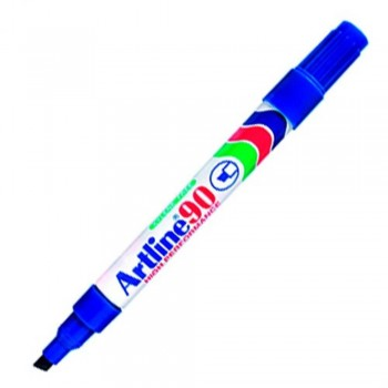 Artline 90 Permanent Marker - EK-90 Refillable 2-5mm Blue