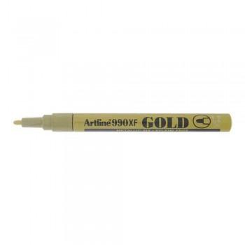 Artline 990XF Metallic Marker 1.2mm - Gold