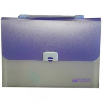 CBE 4308 13P Expanding File W/Handle (A4) Purple (Item No: B10-122 PL)