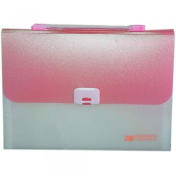 CBE 4308 13P Expanding File W/Handle (A4) Red (Item No: B10-122 RD)