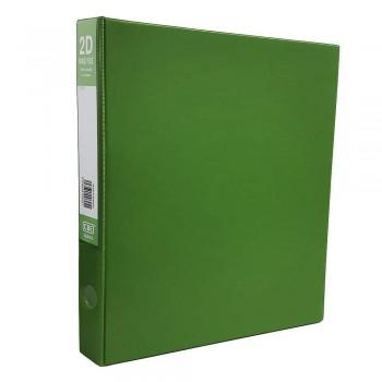CBE 2D635 2-O 25MM PVC Ring File(A4) Green