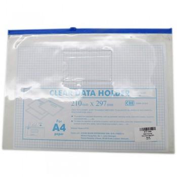 CBE 01314 Zip Document Bag (A4) BLUE