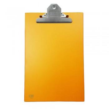 CBE 1496 PVC Jumbo-Clip Board (FC)-orange