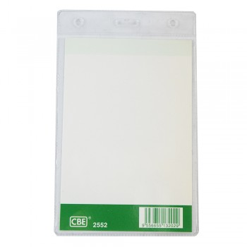 CBE 2552 Name Badge W/O Clip (100MM X 140MM)