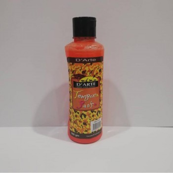 D'arte Tempera Paste Orange 300gm (115)