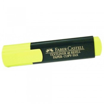 Faber Castell TEXTLINER 48 Highlighter - YELLOW (Item No: A13-02 FC48YL) A1R3B67