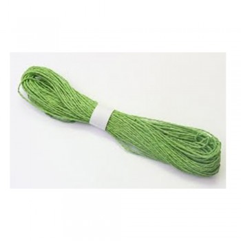 Colorful Paper Rope 25meters - Green