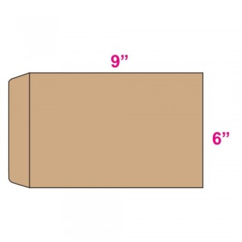 Brown Envelope - Manila - 6-inch x 9-inch