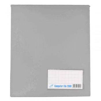 PVC COMPUTER FILE A4 - Gray (Item No :C01 21 GY)