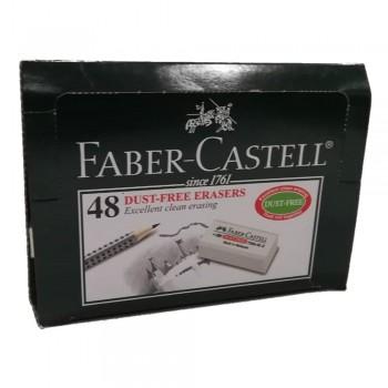 Faber Castell Dust-Free Eraser (7086-48D)-48pcs/box
