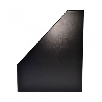 "5"" PVC Magazine Box File - Black"