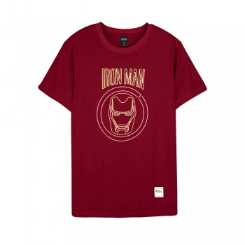 Avengers Series Tee - Iron Man 03 - Red