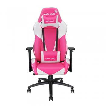 ANDA SEAT Gaming Chair Viper Series - White + Pink