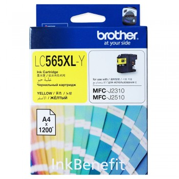Brother LC-565XL Yellow Ink Cartridge