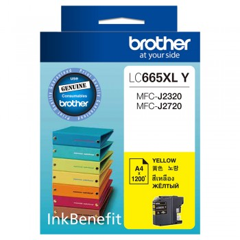 Brother LC-665XL Yellow Ink Cartridge