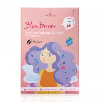 Aufairy Bliss Berries Brightening Mask - 3pcs