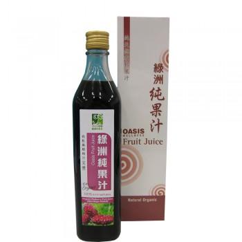 Oasis Wellness Organic Mulberry Juice 520ml (No Sugar)