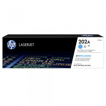 HP 202A Cyan LaserJet Toner Cartridge
